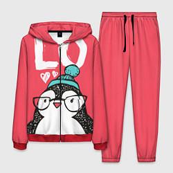Костюм мужской Пингвин: LO цвета 3D-красный — фото 1