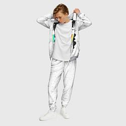 Костюм мужской Единорог астронавт цвета 3D-меланж — фото 2