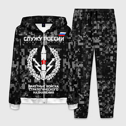 Костюм мужской Служу России: РВСН цвета 3D-белый — фото 1