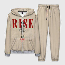 Костюм мужской Skillet: Rise цвета 3D-меланж — фото 1