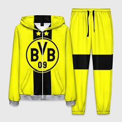 Костюм мужской BVB FC: Yellow line цвета 3D-меланж — фото 1