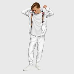 Костюм мужской 2Pac цвета 3D-белый — фото 2