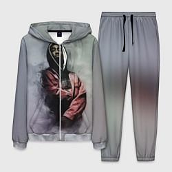 Костюм мужской Shakur Rap цвета 3D-меланж — фото 1