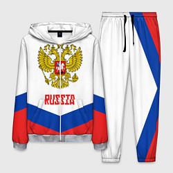 Костюм мужской Russia Hockey Team цвета 3D-меланж — фото 1