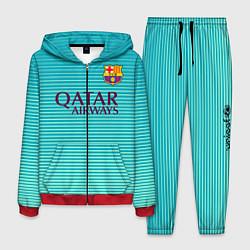 Костюм мужской Barcelona FC: Aqua цвета 3D-красный — фото 1