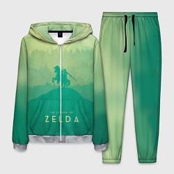 Костюм мужской The Legend of Zelda цвета 3D-меланж — фото 1