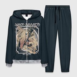 Костюм мужской Amon Amarth: Raven цвета 3D-меланж — фото 1