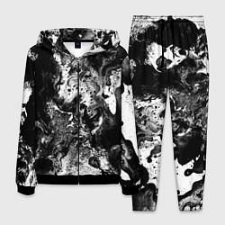 Костюм мужской Чёрная краска цвета 3D-черный — фото 1