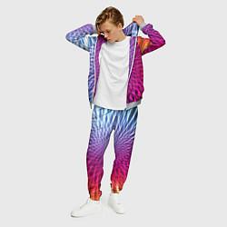 Костюм мужской Плетение цвета 3D-меланж — фото 2