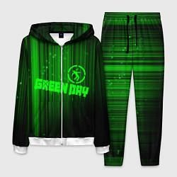 Костюм мужской Green Day лучи цвета 3D-белый — фото 1