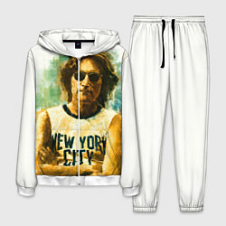 Костюм мужской John Lennon: New York цвета 3D-белый — фото 1