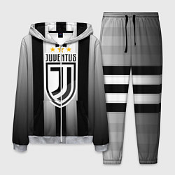 Костюм мужской Juventus FC: New logo цвета 3D-меланж — фото 1
