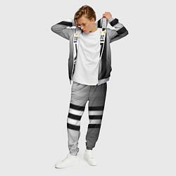 Костюм мужской Juventus FC: New logo цвета 3D-меланж — фото 2