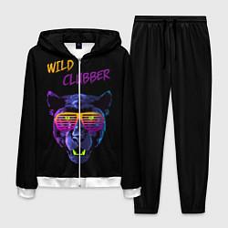 Костюм мужской Wild Clubber цвета 3D-белый — фото 1