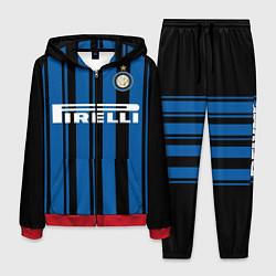 Костюм мужской Inter FC: Home 17/18 цвета 3D-красный — фото 1