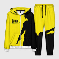 Костюм мужской PUBG: Yellow Shadow цвета 3D-белый — фото 1