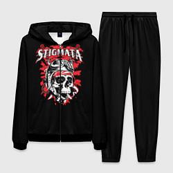 Костюм мужской Stigmata Skull цвета 3D-черный — фото 1