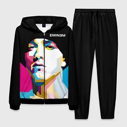 Костюм мужской Eminem Poly Art цвета 3D-черный — фото 1
