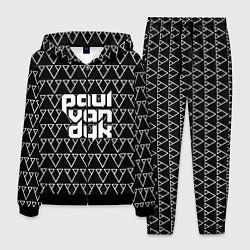 Костюм мужской Paul Van Dyk цвета 3D-черный — фото 1