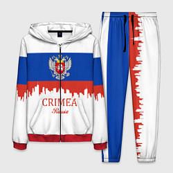 Костюм мужской Crimea, Russia цвета 3D-красный — фото 1