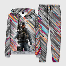 Костюм мужской Rainbow Six Siege цвета 3D-меланж — фото 1