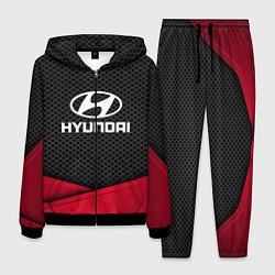 Костюм мужской Hyundai: Grey Carbon цвета 3D-черный — фото 1