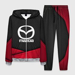 Костюм мужской Mazda: Grey Carbon цвета 3D-меланж — фото 1