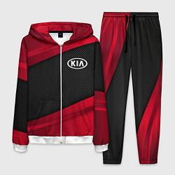 Костюм мужской Kia: Red Sport цвета 3D-белый — фото 1