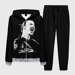 Костюм мужской Zlatan Ibrahimovic цвета 3D-меланж — фото 1