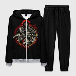 Костюм мужской Berserk Devils цвета 3D-меланж — фото 1