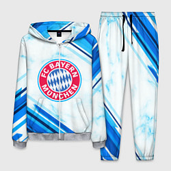 Костюм мужской Bayern Munchen цвета 3D-меланж — фото 1