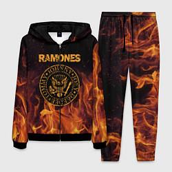 Костюм мужской Ramones: Hell Flame цвета 3D-черный — фото 1