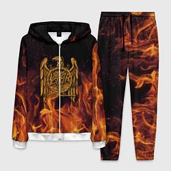 Костюм мужской Slayer: Fire Eagle цвета 3D-белый — фото 1