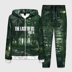Костюм мужской The Last Of Us: Dark Forest цвета 3D-белый — фото 1