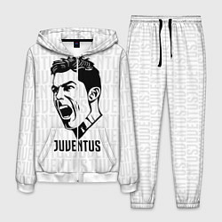 Костюм мужской Juve Ronaldo цвета 3D-белый — фото 1