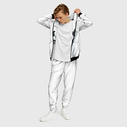 Костюм мужской Marshmallow: White Only цвета 3D-черный — фото 2