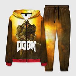 Костюм мужской DOOM: Soldier цвета 3D-красный — фото 1