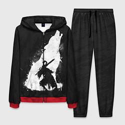 Костюм мужской Dark Souls: Howling Wolf цвета 3D-красный — фото 1