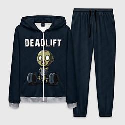 Костюм мужской Deadlift цвета 3D-меланж — фото 1