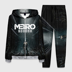 Костюм мужской Metro Exodus цвета 3D-меланж — фото 1