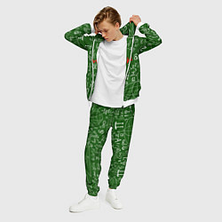 Костюм мужской E=mc2: Green Style цвета 3D-белый — фото 2