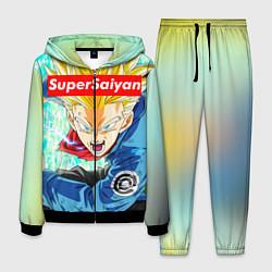 Костюм мужской DBZ: Super Saiyan цвета 3D-черный — фото 1