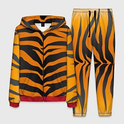 Костюм мужской Шкура тигра цвета 3D-красный — фото 1