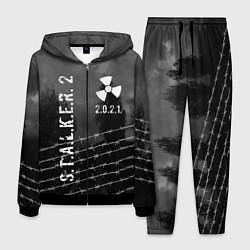 Костюм мужской STALKER 2021 цвета 3D-черный — фото 1