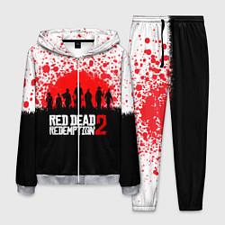 Костюм мужской RDR 2: Red Blood цвета 3D-меланж — фото 1