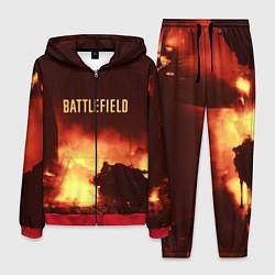 Костюм мужской Battlefield War цвета 3D-красный — фото 1