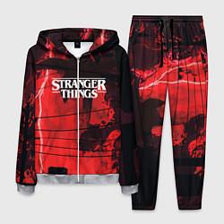 Костюм мужской Stranger Things: Red Dream цвета 3D-меланж — фото 1