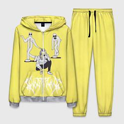 Костюм мужской Ghostemane Mercury цвета 3D-меланж — фото 1