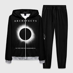 Костюм мужской Architects: Black Eclipse цвета 3D-меланж — фото 1