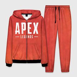 Костюм мужской Apex Legends: Red Logo цвета 3D-черный — фото 1
